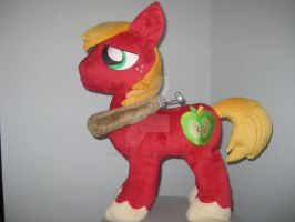 Big Macintosh Plush - Version 1 by GreenTeaCreations