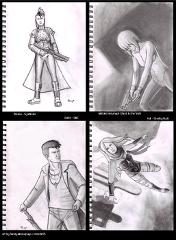 Sketches for Dec '11 to Feb '12 by rmsk8r05
