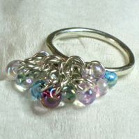 Beaded Stacker Ring by contrarymary