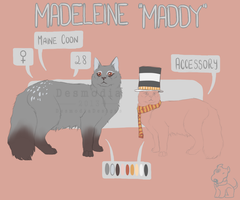 Maddy Reference (temp) by DesmodiaDesigns