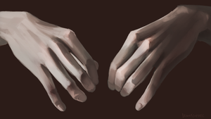Hand Study by BeanyCoffee