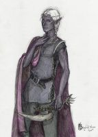 Comission:  Drow by Apocalyptic-Bliss