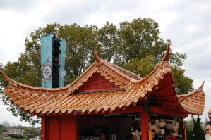 epcot china roof by katiezstock