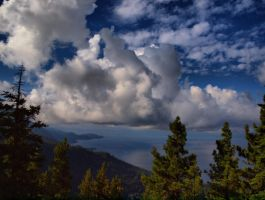 Lake Tahoe Storm by MartinGollery