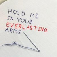 Hold Me In Your Everlasting Arms by deadgoldfishart