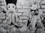 Gon and Killua by VIPartist