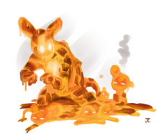 Molten Mouse by ItsJustin