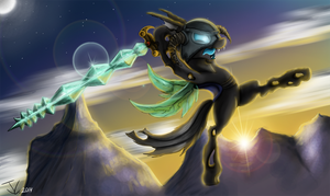Fanart - MLP. Changeling Born by jamescorck