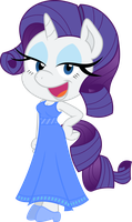 Rarity Anthro - Poser by Budgeriboo