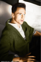 Tom Hiddleston by queenlaufeyson