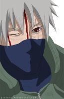 Kakashi Sketch colored by Gintara