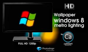 Windows 8 Metro Lighting by CaHilART
