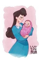 Love You Mom by SimplyLiah