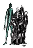 The Third Doctor and Verdigris by herbertzohl