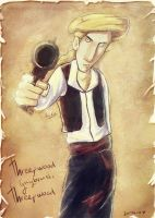 Guybrush, mighty pirate by Deepsies