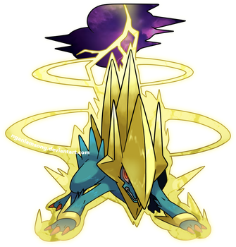 Mega Manectric by nganlamsong