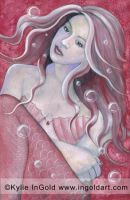 Mermaid I dream,wish, wonder by KylieInGold