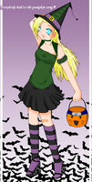 In this town of Halloween by Black-Harmonia