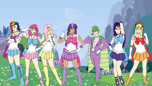 Sailor My Little Pony: Friendship Is Magic by Trevor911
