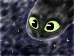 Toothless by ChocolateRiceBall