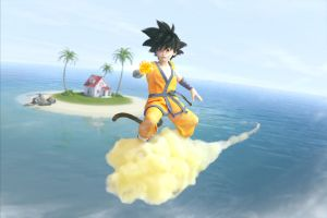 Little Goku by obi1knobi