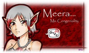 For LinChan: Meera by Kyuoko