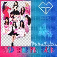 [PACK] SNSD MrMr PNG Pack by WinterxLights
