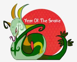 Year Of the Snake copy by Lizzieknight
