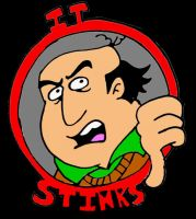 It Stinks Logo by mightyfilm
