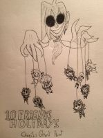 10 friend's holidays. Chapter one cover by Baka2niisan