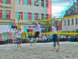 Beachball Anaglyph 3D by zour
