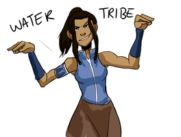 Avatar - Water Tribe by schellibie