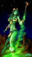 The Green Goddess. by shawnmp