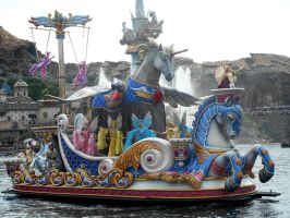 Tokyo Disney Sea Legends of Mythica Unicorn Float by RubyReminiscence