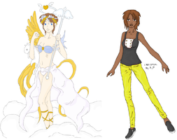 GAIA COMMISHES LOL by refia