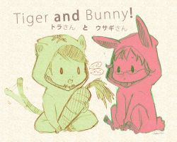 Tiger and Bunny by peachbunny27