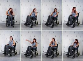 Wheelchair 1 by Tasastock