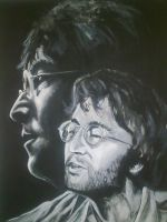 Imagining Lennon by Tanniss