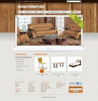 Wood Furniture by blckdsgn