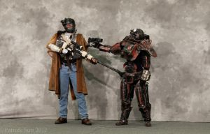 NCR Ranger and Outcast 3 by miss-mustang