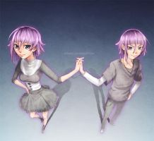 -:Crona  Girl-Boy:- by Sanatio