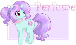 Perfume the Unicorn by Vellvette
