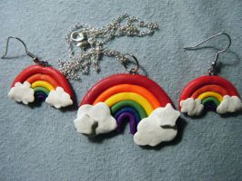 Gay Pride Jewelry by Mercury-the-Queen