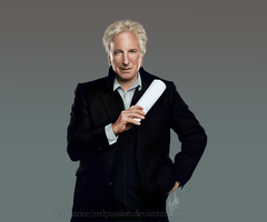 Alan Rickman by RedPassion