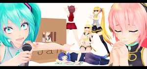 When the Squad gets together by KigiminLen