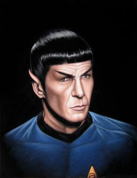 Spock by BruceWhite
