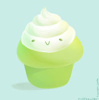 Green Tea Muffin by SorbetBerry
