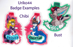 Badge.Examples.2013::..+ by Uriko44