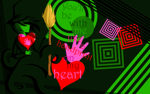 Wicked For Good Wallpaper by Origamigirl1223
