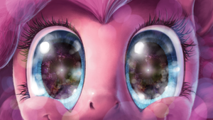 Pinkie Pie Stares by Hunternif